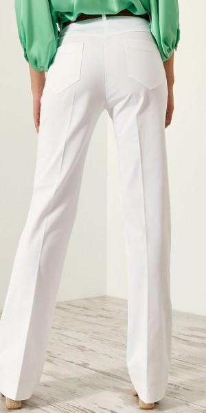 Παντελόνι καμπάνα με τσέπες